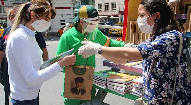 Çankaya Belediyesinden Dünya Çevre Günü'nde vatandaşlara çevre kitapları