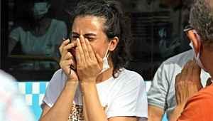 Çarpıştığı sürücüyü kanlar içerisinde gördü, gözyaşlarına boğuldu