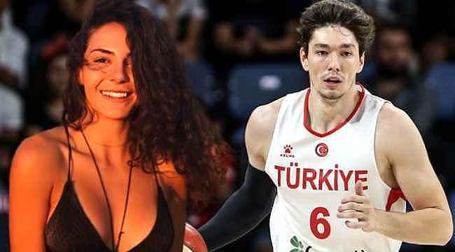 Cedi Osman, Ebru Şahin ile aşk iddialarına cevap verdi