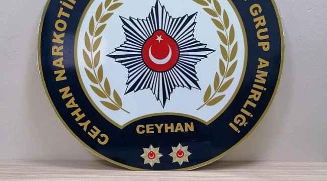 Ceyhan'da uyuşturucu operasyonu