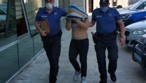 Cezaevinden izinli çıkan genç hırsızlık suçundan gözaltına alındı