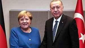 Cumhurbaşkanı Erdoğan ve Merkel, Libya konusunda anlaştı