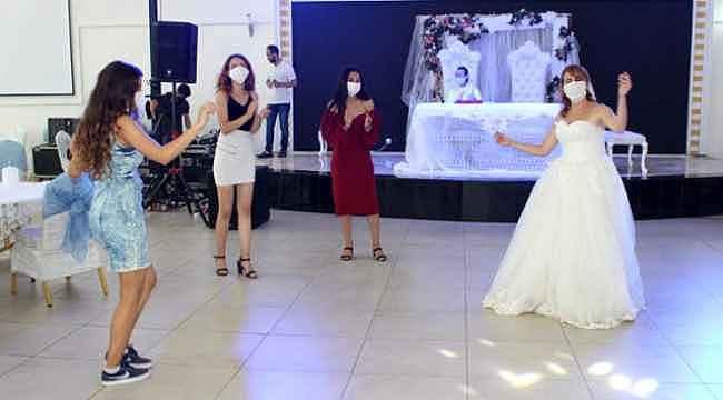 Düğünlerde alınacak önlemler temsili düğünle anlatıldı