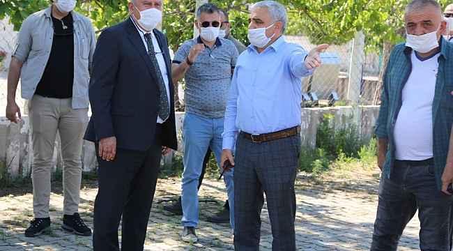 Efeler Belediye Başkanı Atay, belediyeye ait atıl durumdaki arsaları inceledi