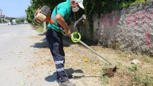 Efeler Belediyesi Umurlu'da yeşil alan düzenlemesi yaptı