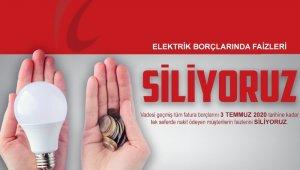 Elektrik borçlarında faiz silme kampanyası için son gün 3 Temmuz