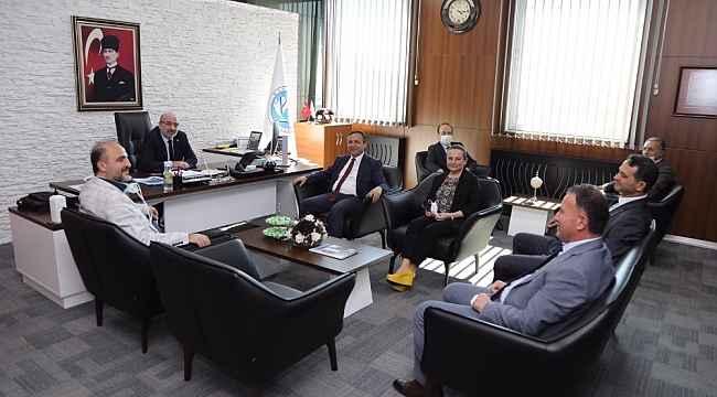 Erciyes Üniversitesi Rektöründen, Kayseri Üniversitesi Rektörüne 'Hayırlı Olsun' Ziyareti
