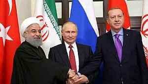Erdoğan, Putin ve Ruhani yarın Suriye'yi görüşecek