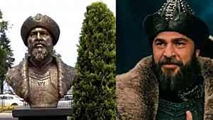 Ertuğrul Gazi büstünün, Diriliş Ertuğrul'da Ertuğrul bey karakterini canlandıran Engin Altan Düzyatan'dan, büstün benzetilmesine açıklama!