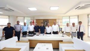 Esnaf birlik başkanlarından Tütüncü'ye 'Kira' teşekkürü