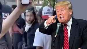Eylemlerdeki para alışverişi görüntüsünü paylaşan Trump'tan tehdit gibi sözler
