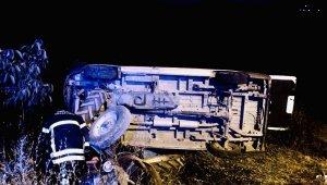 Bursa, Gemlik'te traktör ile minibüs çarpıştı: 2'si çocuk 6 yaralı - Bursa haberleri