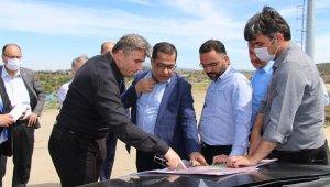 Genel Müdür Dilsiz, Kula'daki yatırımları yerinde inceledi