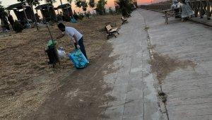Gercüş Kırkat Göleti mesire alanı temizlendi