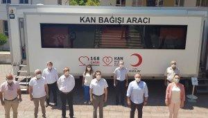 Germencik'te kan bağışı kampanyası düzenlendi