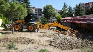 Görükle'deki park alanı işgalden temizlendi - Bursa Haberleri