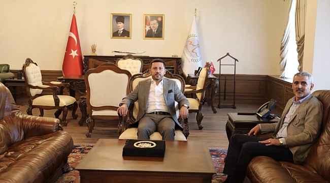 Hacıbektaş Belediye Başkanı Altıok, Başkan Arı'yı ziyaret etti