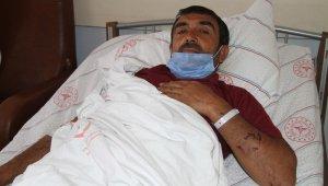 Hain saldırıda yaralanan işçiler olay anını anlattı