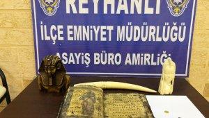 Hatay'da tarihi eser operasyonu