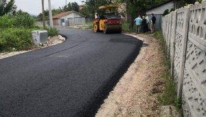 Hendek'te 5 mahalle daha sıcak asfaltla buluştu