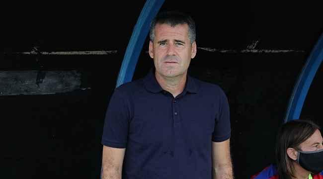 """Hüseyin Eroğlu: """"İyi vuruş yapabilsek 3 puanla dönebilirdik"""""""