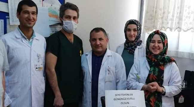 Huzur Sağlık-Sen Diyarbakır İl Başkanlığı diyetisyenlerin gününü kutladı
