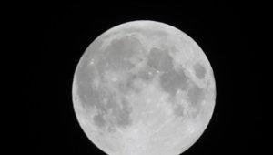 Ay tutulması böyle görüntülendi