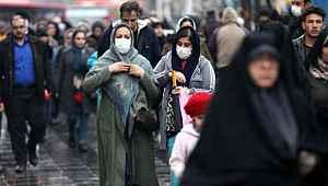 İkinci dalganın yaşandığı İran'da son 24 saatte 2 bin 238 vaka tespit edildi