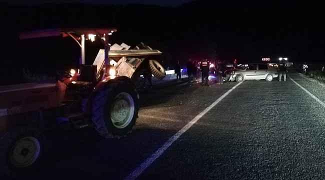 İnegöl-Domaniç yolunda kaza: 2 yaralı - Bursa Haberleri