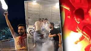 İstanbul'da asker uğurlamalarında dehşete düşüren görüntüler