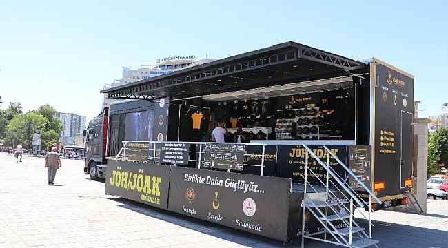 JÖH ve JÖAK tanıtım ve satış tırı Kayseri'de