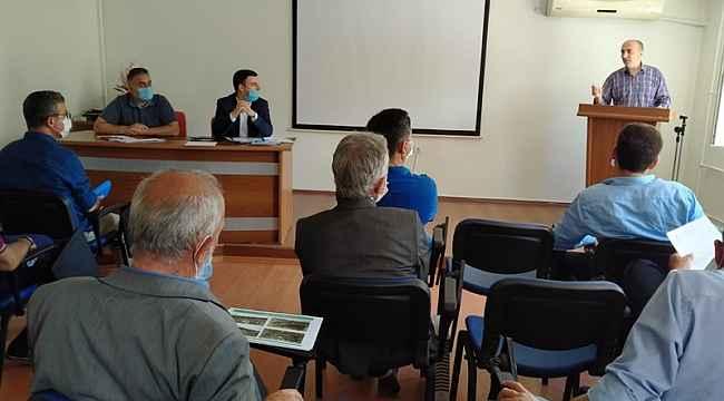 Kale'de deprem bilgilendirme toplantısı yapıldı
