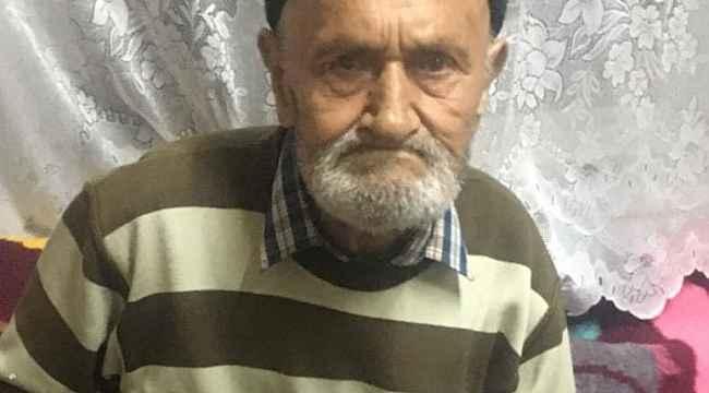Kaybolan yaşlı adamı jandarmanın dikkati kurtardı