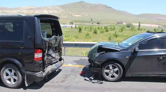 Kayseri'de zincirleme trafik kazası: 6 yaralı