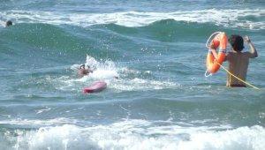 Kocaeli'de 36 kişi boğulmaktan son anda kurtarıldı