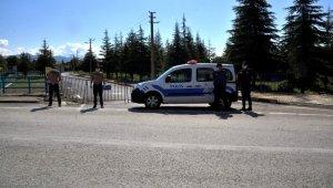 Konya'da bir mahalleye korona virüs karantinası