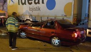 Köpeğe çarpmamak için ani manevra yapan Eski CHP Çorum İl Başkanı Hasan Eray Tüfekçi canından oluyordu