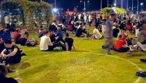 Kordon'da sosyal mesafe kurallarına uymayan 8 kişiye ceza kesildi
