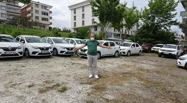 Körfez ülkelerinden gelen turistler olmayınca kiralık araçlar elde kaldı