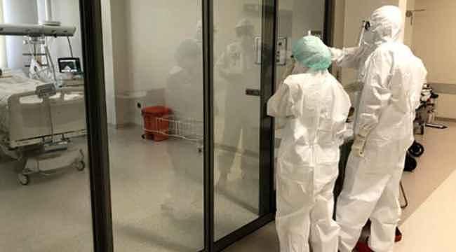 Koronavirüs salgınında yoğun bakımdaki hasta sayısı son 1 ayın en yüksek seviyesinde