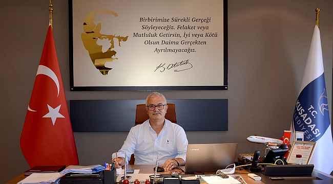 Kuşadası Belediye Başkanı Günel'e Hayati Atlı vekalet edecek