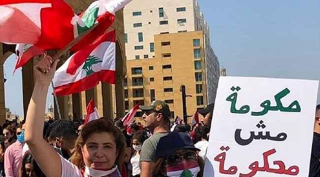 Lübnan'da çıkan protestolarda 35 kişi yaralandı