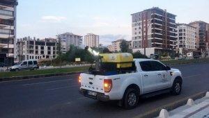 Malatya Büyükşehir Belediyesi, haşerelerle mücadeleyi yoğunlaştırdı