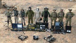 Mehmetçik Libya'da da patlayıcıları temizliyor