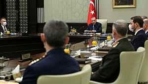 Milli Güvenlik Kurulu toplantısı sonrası 5 maddelik bildiri yayınlandı