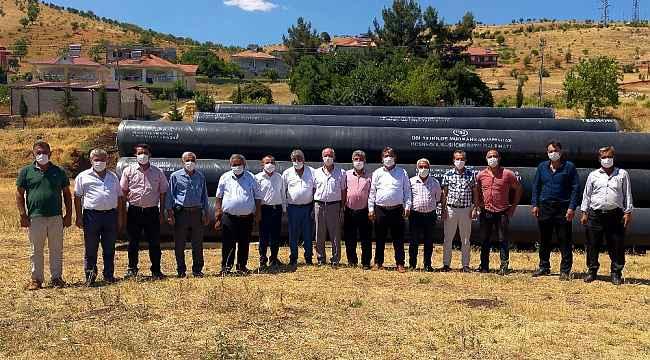 Muhtarlardan Milletvekili Ahmet Aydın'a teşekkür