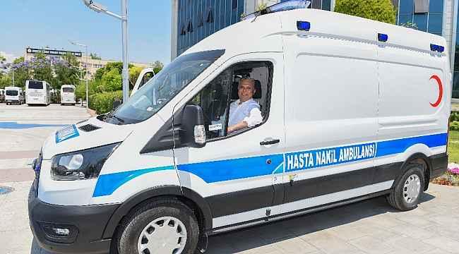 Muratpaşa'ya 3'üncü hasta nakil aracı