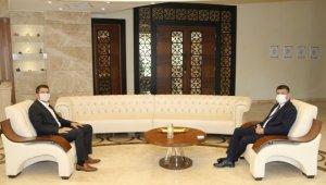 Nevşehir Cumhuriyet Başsavcısı Şahin'den Rektör Aktekin'e ziyaret