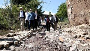 Nilüfer Belediye Başkanı Turgay Erdem, sel felaketinden etkilenen Yenisölöz'ü ziyaret etti - Bursa Haberleri
