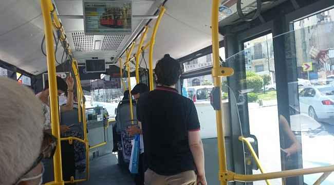 Otobüste maske tartışması